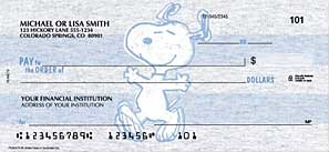 Click Here To Order Peanuts Checks
